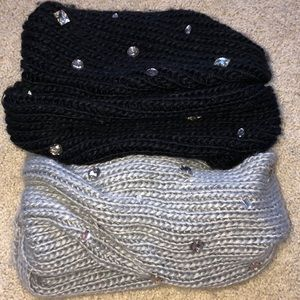 Two Apt. 9 Infinity Sweater Scarves